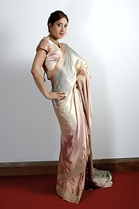 Indian Babe Posing In Sari
