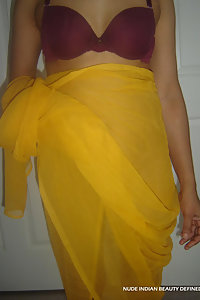 Indian wife Roopa stripping naked