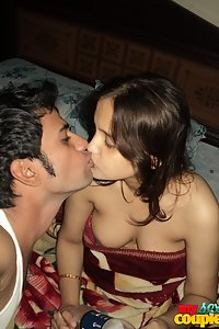 Hot Indian Couple Foreplay Sex Session