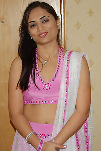 Hot sexy indian housewife posing