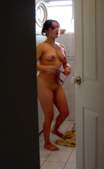Caught naked after shower in hotel window 8