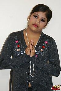 Nude Indian Girl Rupali Black Lingerie