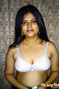 Gorgeous Neha Nair White Bra Giving Nude Pics