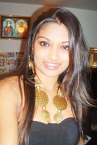 Mix bag picture of indian girl showing off