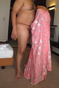 Young indian couple getting naught bedroom after party